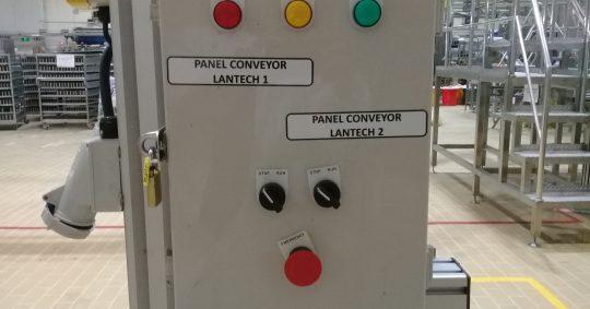Pembuatan conveyor modular untuk transfer barang